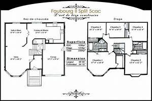 groupe construction royale modeles unifamiliales With modele plan de maison 6 groupe construction royale modeles bi generation