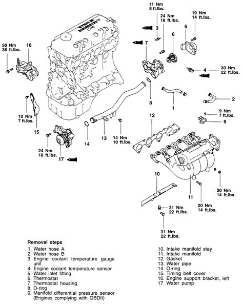 Toyotum 2 4 Engine Intake Manifold Diagram by Repair Guides Engine Mechanical Intake Manifold