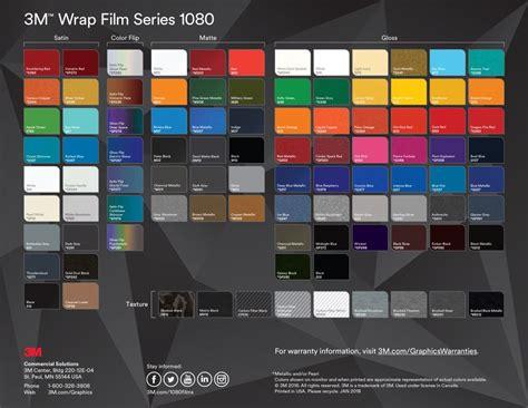 3m 1080 colors color change wraps monarch media designs wi