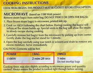 How To Use The Microwave Power Converter Chart