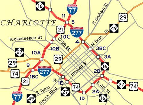 Interstate 277 North Carolina Interstate
