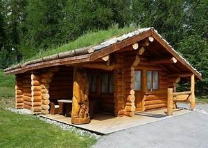 Maison Rondin Bois : une maison en bois brut la fuste chalets fustes ~ Melissatoandfro.com Idées de Décoration