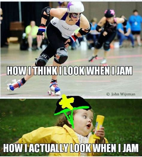 Roller Derby Meme - would totally be me new adventures roller derby pinterest