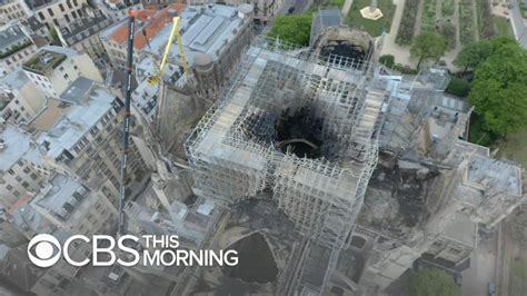 notre dame cathedral fire    caused