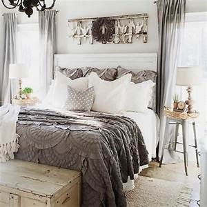 Cozy Farmhouse Master Bedroom Design Ideas 181 — Fres Hoom