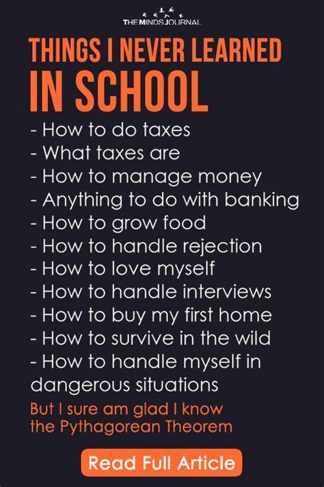 essential life lessons children   taught