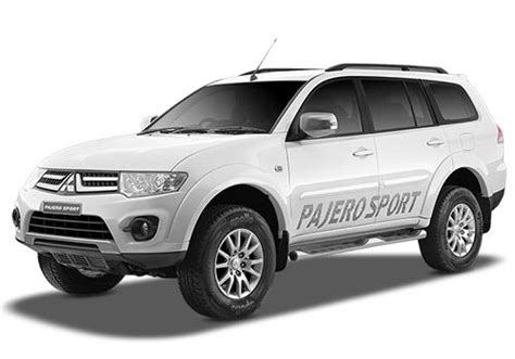 mitsubishi pajero sport price  india review pics