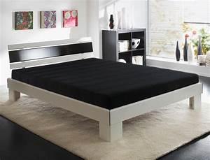 Bett 140x200 Komplett : jugendbett ronja 140x200 wei schwarz bett komplett rost matratze wohnbereiche schlafzimmer ~ Eleganceandgraceweddings.com Haus und Dekorationen