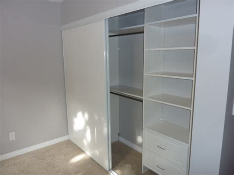 Simple Single Closet Design  Traditional Closet