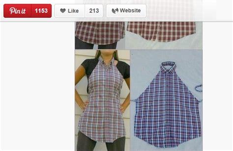 camicie da cucina grembiule da cucina fai da te con una vecchia camicia