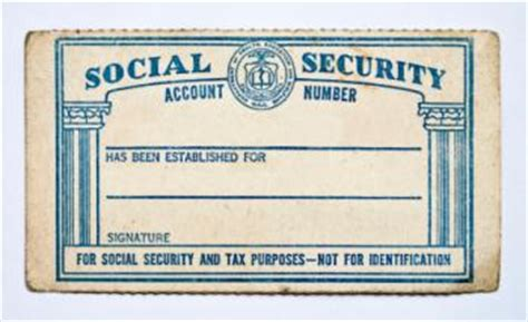 Make A Social Security Card Template by Finding Government Records Lovetoknow