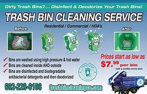 Window Cleaning Flyer The Trash Can Cleaning Company