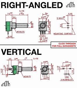 Alpha 9mm Pots  U2013 Vertical