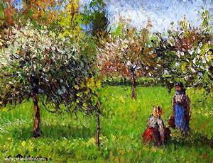Eragny Art De Vivre : camille pissarro apple blossoms at eragny ~ Dailycaller-alerts.com Idées de Décoration