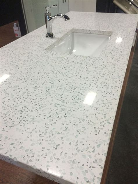 Recycled Glass Bathroom Countertops by I Am Intrigued By Recycled Glass Countertops They Are A