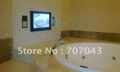 tv salle de bain livraison gratuite 233 tanche tv salle de bains tv miroir tv 22 pouces dans t 233 l 233 vision de