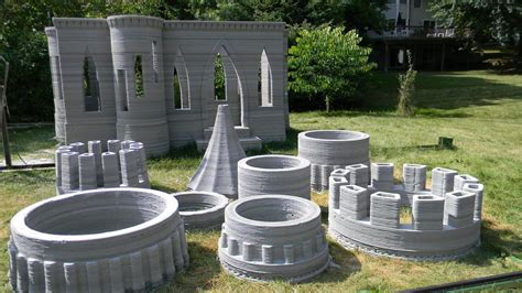 house plans with turrets s 3d printed castle is complete andrey