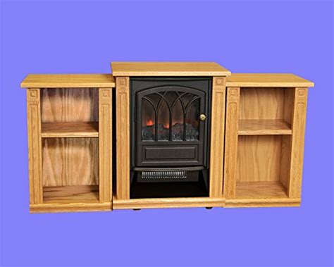amish heat electric infrared fireplace mantel