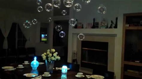 how to make fake bubbles for decoration floating chandelier