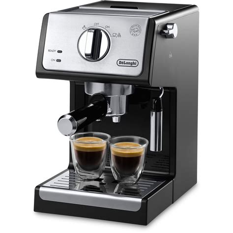 A Espresso Coffee Machine by Delonghi 15 Bar Coffee Espresso Maker Reviews Wayfair