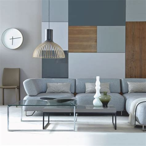 blue and gray living room combination 69 fabulous gray living room designs to inspire you 9308