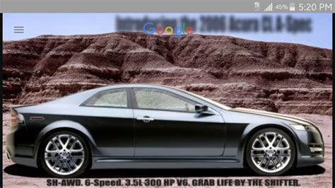 2 door tl idea photoshop acurazine acura enthusiast community