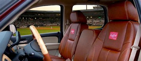 Car Upholstery For Sale by Katzkin Rawlings Baseball Seat Covers The Hog Ring