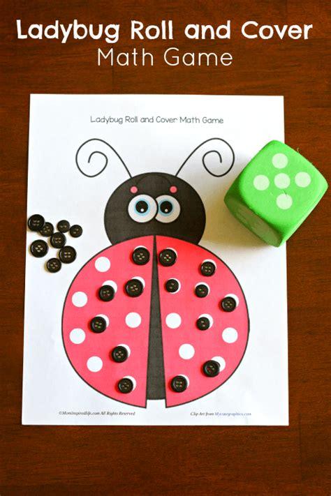 ladybug roll and cover math ideas for school 812 | a0cc31f81fa3b56a9fefba16deabeba2