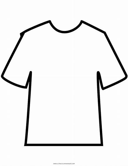 Coloring Shirt Tshirt Pages Printable Getcolorings Getdrawings