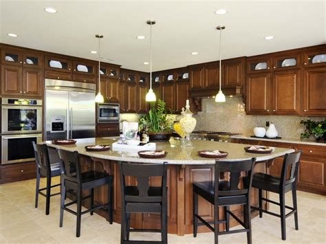 kitchen with large island kitchen island design ideas pictures options tips island kitchen big island and hgtv