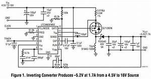 Appnote  Inverting Dc  Dc Controller Converts A Positive