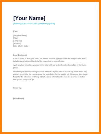 simple application letter penn working