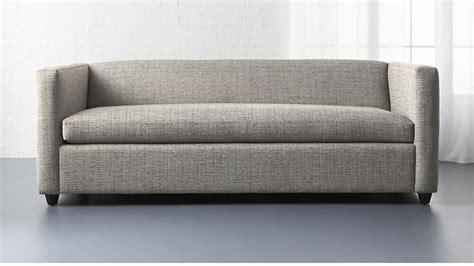 loveseat sleeper sofa salt and pepper sleeper sofa cb2