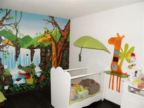 chambre garcon jungle deco chambre bebe garcon jungle chambre idées de
