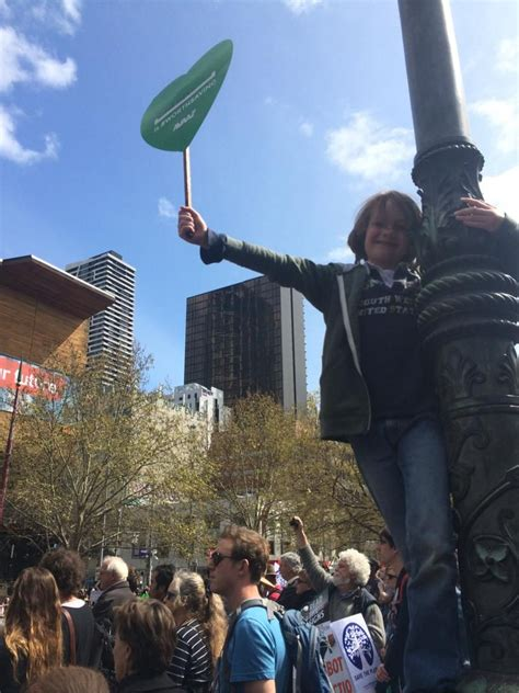 Climate March in Melbourne, Australia, September 21, 2014 ...