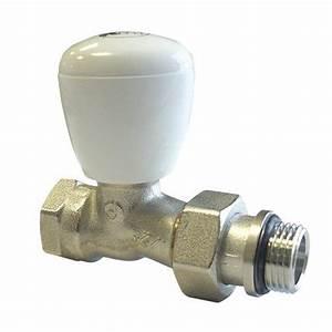 Tete De Robinet Radiateur : robinet de radiateur simple r glage droit robusto ~ Dailycaller-alerts.com Idées de Décoration