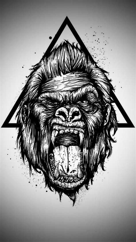 gorilla wallpaper  sixtydays