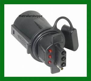Trailer Light Adaptor Converter 7 Rv To 4 Pin Lighted