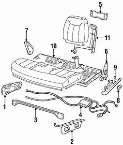 Chevrolet Tahoe Power Seat Wiring Harness  Full Bench Seat