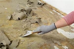 Pvc Boden Fußbodenheizung : pvc boden entfernen anleitung in 4 schritten ~ Markanthonyermac.com Haus und Dekorationen