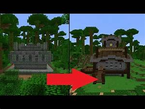Let's Transform a Minecraft Jungle Temple - TomClip