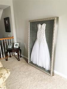 instead of putting my wedding dress in a box hidden in the With wedding dress box