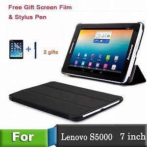 PU Leather Stand Cover Case for funda tablet 7 inch Lenovo ...
