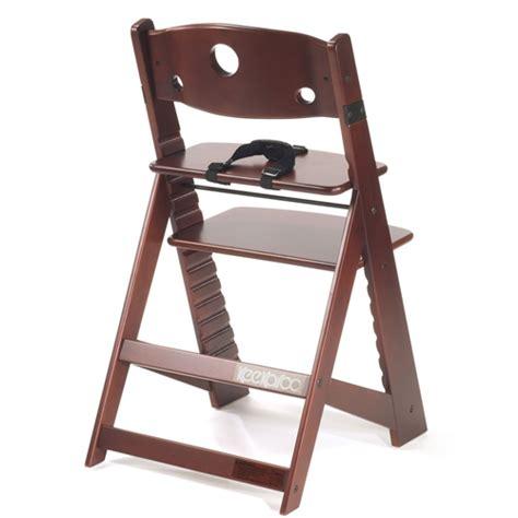 keekaroo high chair used keekaroo height right high chair mahogany