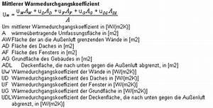 Wärmestrom Berechnen Formel : die berechnung des mittleren w rmedurchgangskoeffizient ~ Themetempest.com Abrechnung