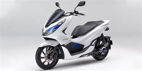 elektro roller 125 honda pcx electric scooter with battery swapping electrive