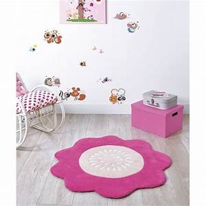 tapis chambre bebe rose solutions pour la decoration With tapis rose chambre bebe