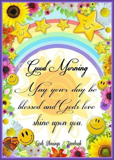 sunshine rainbow good morning graphic pictures