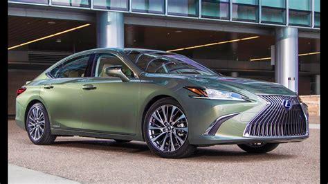Lexus 2019 Es 350 Colors by 2019 Lexus Es 300h Sunlight Green Interior Exterior And