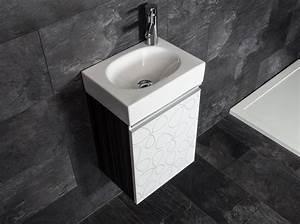 Waschbecken Gäste Wc : badm bel set g ste wc ice spiegel waschbecken ~ Michelbontemps.com Haus und Dekorationen